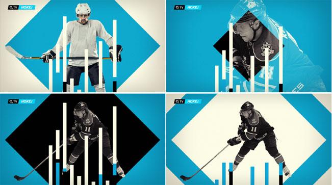 Vizuál původně připravovaného kanálu O2 TV Hokej