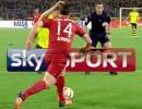 Identifikační předěl sportovních stanic Sky Sport v Německu. Reprofoto