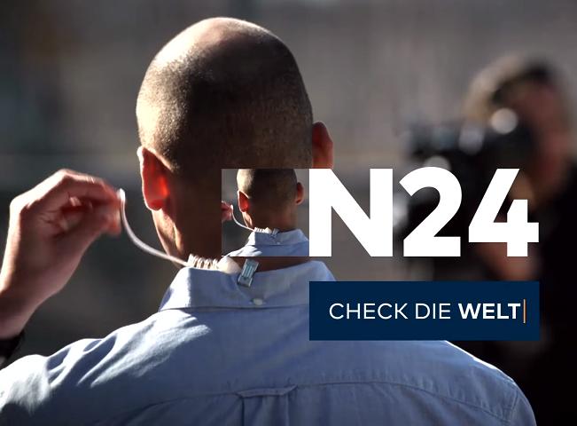 N24 s novou grafikou, zdroj: Vysílání N24