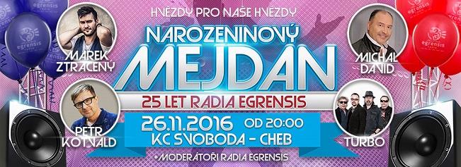 Rádio Egrensis oslaví 25. narozeniny
