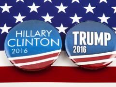 HIllary a Trump, Shutterstock
