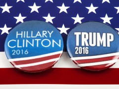 HIllary Clinton a Donald Trump. Ilustrační foto: Shutterstock.com