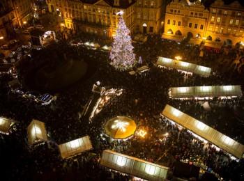Pohled na Staroměstské náměstí. Foto: Radio City 93,7