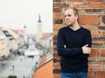Spoluzakladatel a programový ředitel rádia Trnava Roks Dušan Vančo. Foto - Peter Cagala