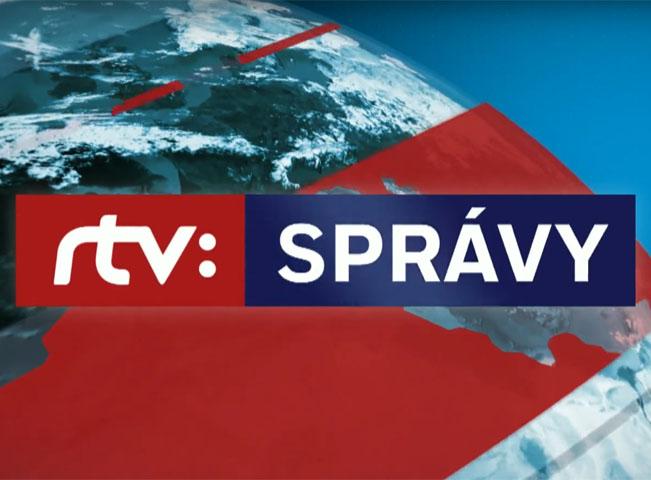 Hlavní logo zpravodajské relace RTVS. Obdobný styl mají i loga dalších zpravodajských relací. Zdroj: YouTube kanál RTVS