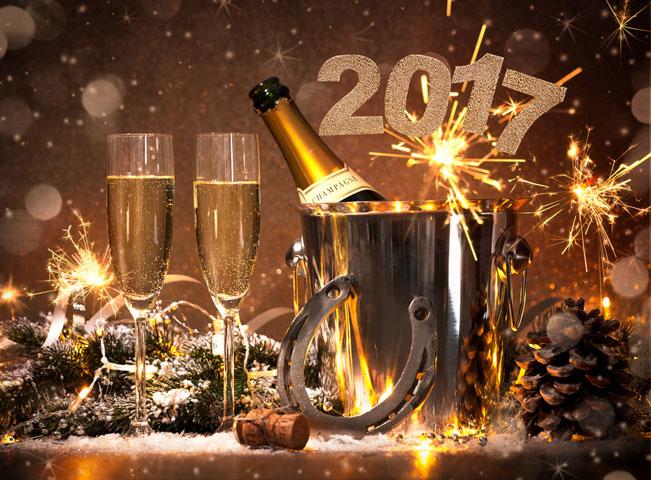 Šťastný nový rok 2017 vám přeje redakce webu RadioTV.cz