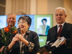 Cenu za celoživotní přínos získala Zuzana Růžičková. Foto: Honza Martinec pro Voice of Prague