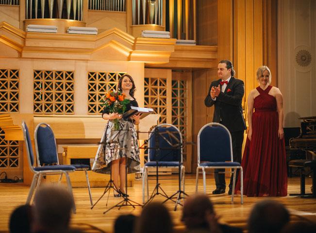 Cenu pro talent roku získala Kateřina Javůrková. Foto: Honza Martinec pro Voice of Prague