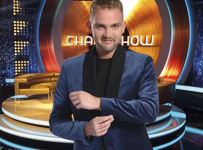 ChartShow s Liborem Boučkem. Foto: archiv TV Nova