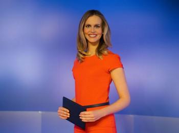 Michaela Šmídová v pořadu TN2. Foto: archiv TV Nova