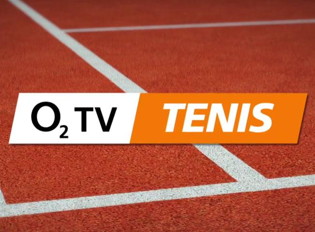 Logo nového kanálu O2 TV Tenis