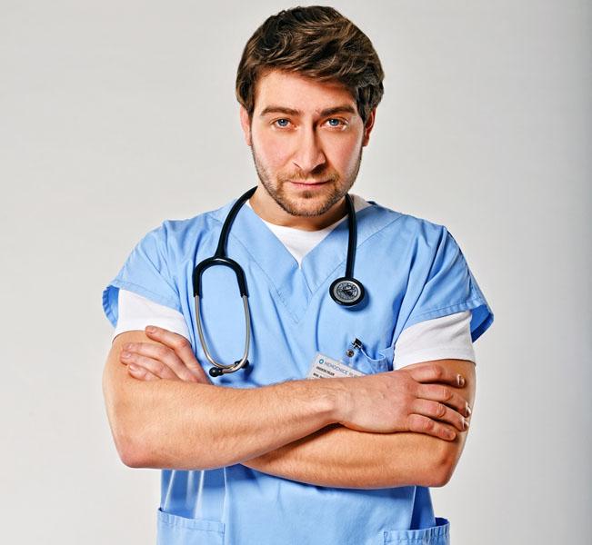 Marek Němec v seriálu Modrý kód, foto: FTV Prima