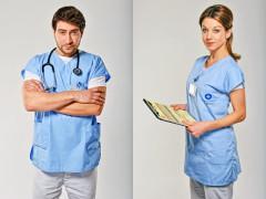 Marek Němec a Sabina Laurinová v seriálu Modrý kód. Foto: FTV Prima
