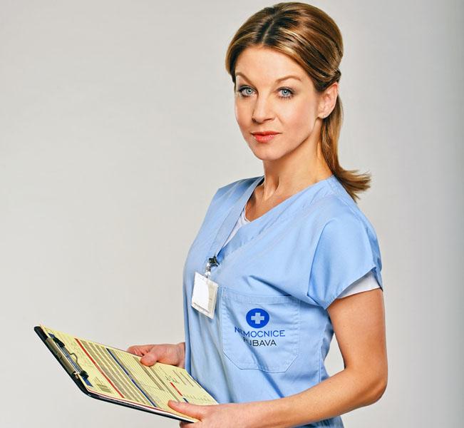 Sabina Laurinová v seriálu Modrý kód, foto: FTV Prima