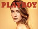 Playmate Elizabeth Elam na obálce nejnovějšího čísla amerického magazínu Playboy. Foto: worldofplayboy.com