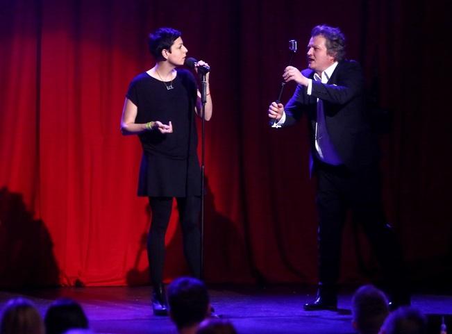 Adela Elbel v pořadu Comedy Club. Foto: Viacom International Media Networks