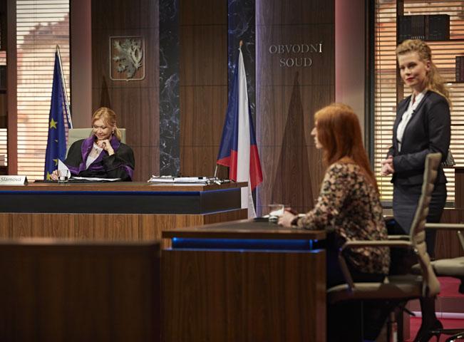 Soudy Kláry Slámové, foto: archiv TV Nova