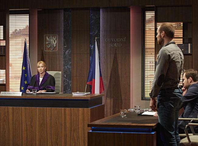 Jeden z prvních případů v pořadu Soudy Kláry Slámové na Nova 2. Foto: archiv TV Nova