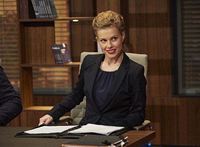 Kateřina Steinerová v pořadu Soudy Kláry Slámové, foto: archiv TV Nova