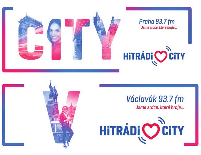 Ukázky kampaně k rebrandingu Radia CITY 93.7