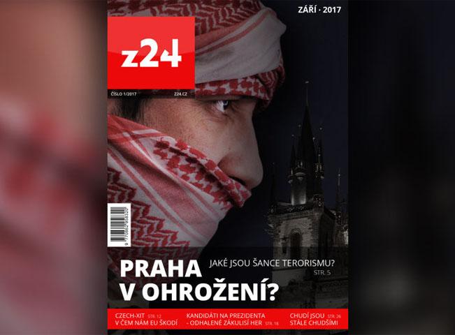 Ukázka obálky připravovaného prvního čísla tištěného časopisu z24. Foto: S&P Broadcasting