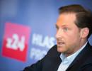 Pál Milkovics, ředitel a spolumajitel zpravodajské televize z24. Foto: S&P Broadcasting