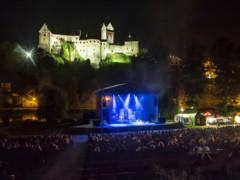 Beatova Síň Slávy vpřírodním amfiteatru vLokti nad Ohří