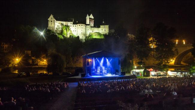 Beatova Síň Slávy v přírodním amfiteatru v Lokti nad Ohří