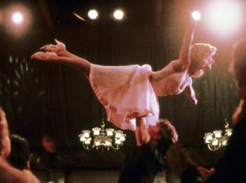 Ikonická scéna z filmu Hříšný tanec. Ilustrační foto - distribuce Vestron Pictures