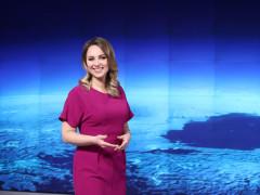 Katka Říhová na Nově. Foto: archiv TV Nova