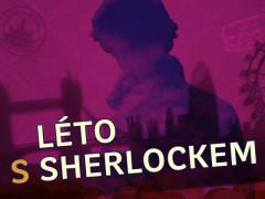 Vizuál projektu Léto s Sherlockem. Zdroj: Český rozhlas