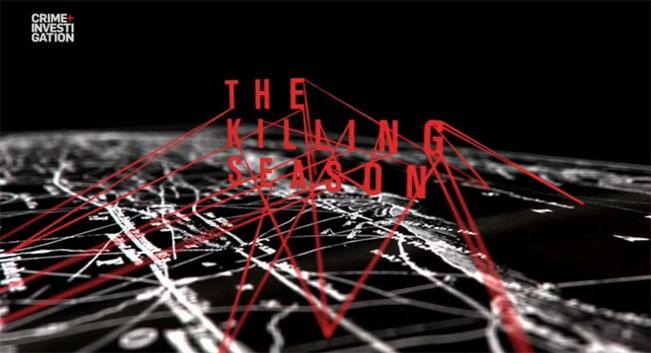 Seriál Vražedná sezona (Killing Season) na Crime&Investigation. Ilustrační screenshot