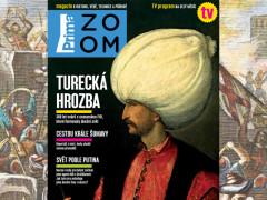 Titulní strana pilotního čísla časopisu Prima ZOOM. Zdroj: FTV Prima