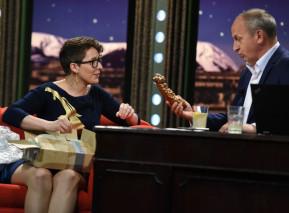 Barbora Maštrlová u Jana Krause. Zdroj: FTV Prima