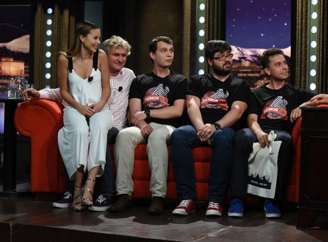 Show Jana Krause. Monika Bagárová, Jan Šibík a další hosté Jana Krause. Fotografii poskytla FTV Prima