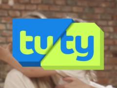 Předěl ve vysílání TUTY TV. Screenshot RadioTV