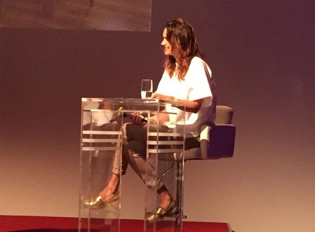Tiskovou konferenci České televize moderovala Daniela Písařovicová. Foto: Martin Petera pro RadioTV.cz