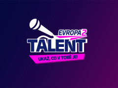 Logo projektu Evropa 2 Talent