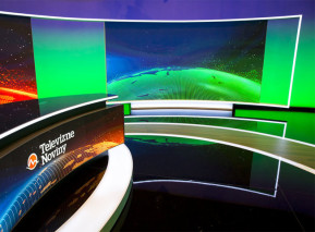 Multifunkční studio TV Markíza z roku 2017. Zdroj: TV Markíza