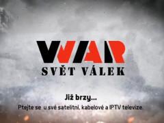 Zkušební vysílání televize WAR - svět válek