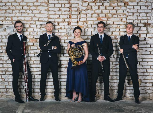 Soubor Belfiato Quintet. Fotografii poskytla stanice Classic Praha / Voice of Prague.