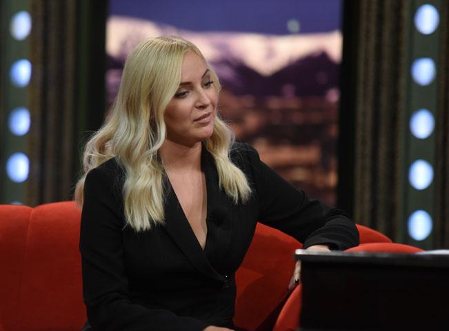 Markéta Konvičková v Show Jana Krause. Foto poskytla: FTV Prima