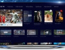 Obrazovka s novou funkcí Moje menu u placené televize O2 TV. Zdroj: O2 Czech Republic