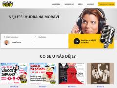Webová prezentace radia RUBI