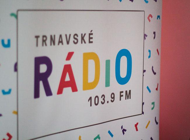 Trnavské rádio. Foto: Mona Hurbanová