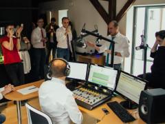 Trnavské rádio - zahájení vysílání. Foto: Mona Hurbanová