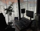 Bývalá kancelář ředitele, nyní režie a odbavovací pracoviště pro modré a černé studio, autor: Martin Petera