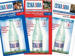 Česká soda vyšla pro fanoušky i jako DVD kolekce. Foto: archiv Febio