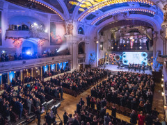 Ceny Classic Prague Awards se předávaly v sobotu 20. ledna vpražském Obecním domě. Ilustrační foto poskytla společnost Voice of Prague