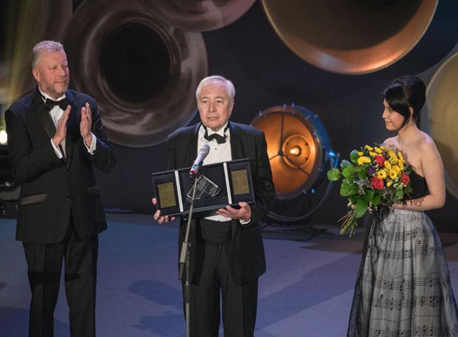 Laureátem ceny za celoživotní přínos se stal renomovaný dirigent Libor Pešek, který od roku 2007 stojí včele Českého národního symfonického orchestru. Ilustrační foto poskytla společnost Voice of Prague